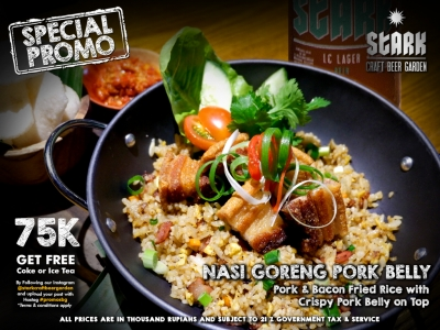 Nasi Goreng Pork Belly